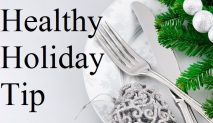 healthy holiday tip